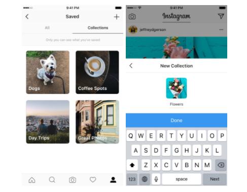 Pinterest e Instagram