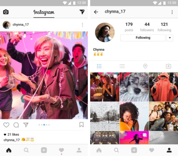 Instagram Album Feature
