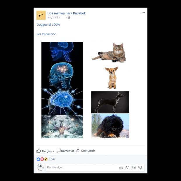 memes para Facebook - Incremento de valores