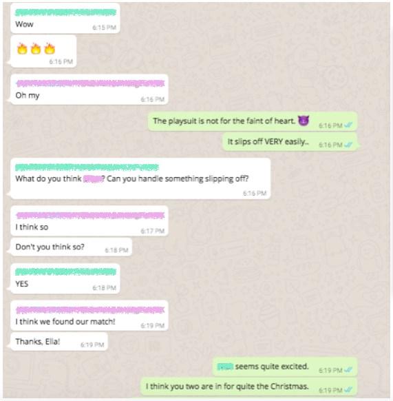 Mensajería es el nuevo tono utiliza WhatsApp para empresas