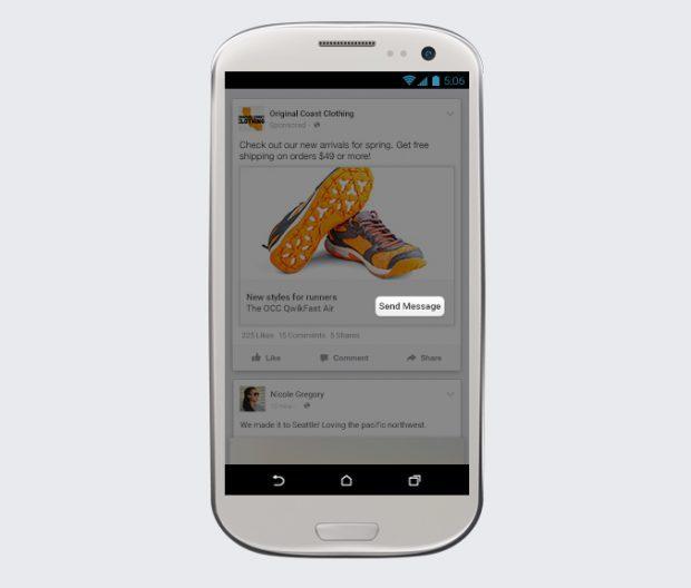 Nachricht zeigt facebook an obwohl da messenger ist keine Facebook messenger