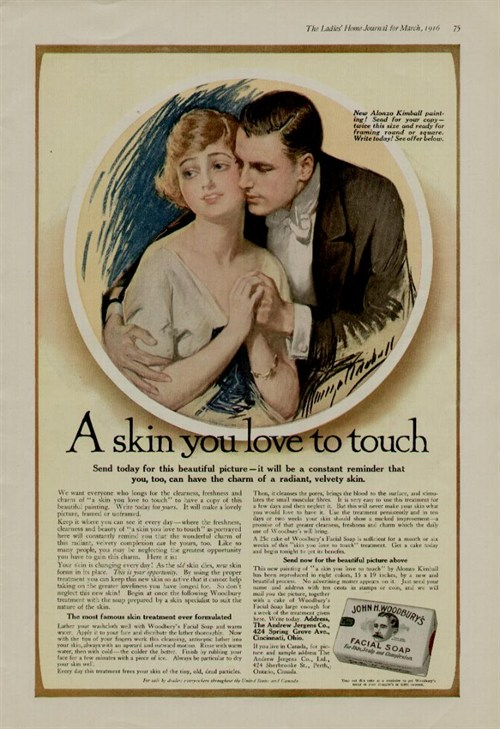 Skin You Love to Touch Ad