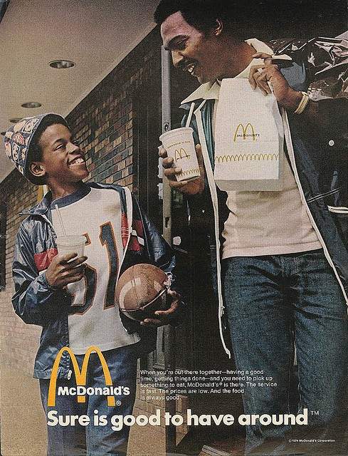 McDonalds ad by Burrell