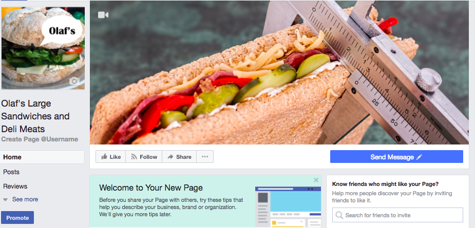 Explore your new Facebook Page
