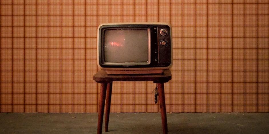 a vintage television