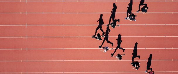 social media demographics running track