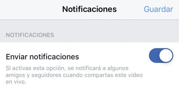 Facebook Live - Guía en Español (Ajustes de Facebook live notificaciones)