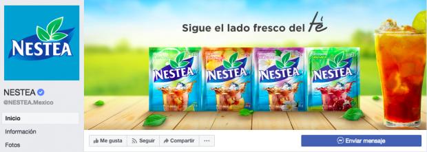 Sigue el ejemplo de Nestea México para aprender cómo conseguir más likes en Facebook