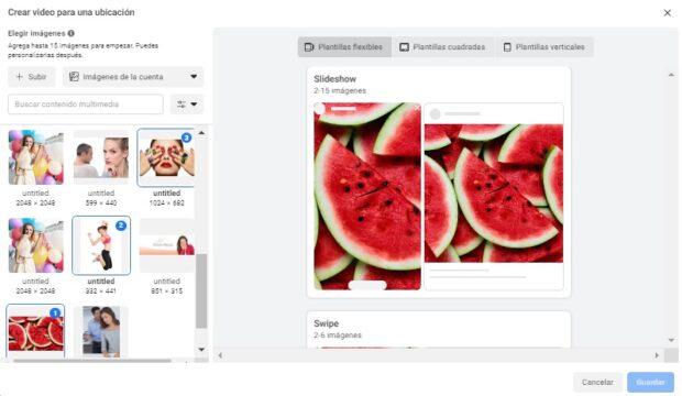 crea un anuncio con presentación en el Administrador de anuncios de Facebook