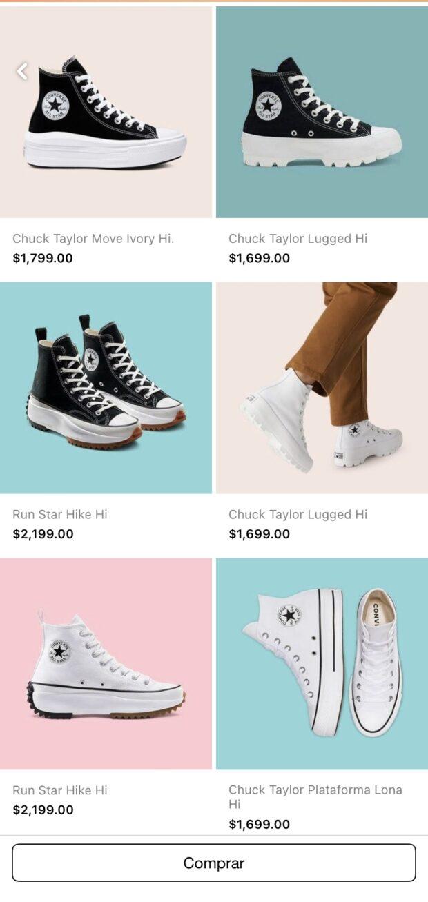 anuncio de colección de Converse