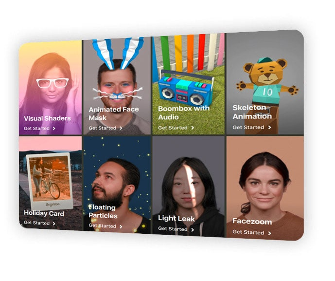 Spark AR studio pour stories Instagram