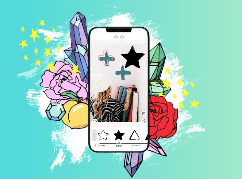 application design kit pour stories Instagram