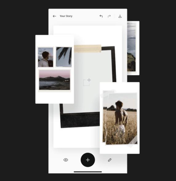 application Unfold pour stories Instagram