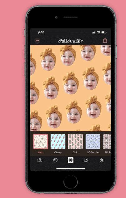 application Patternator pour stories Instagram