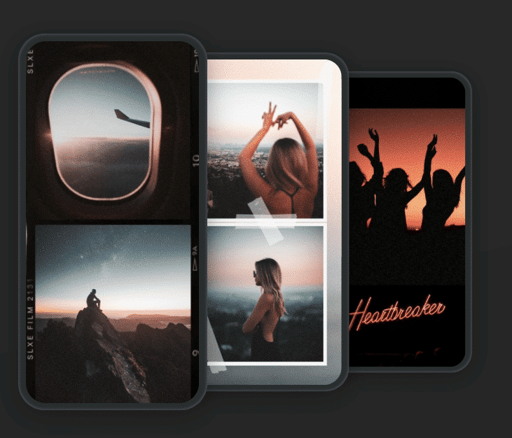 application storyluxe pour stories Instagram