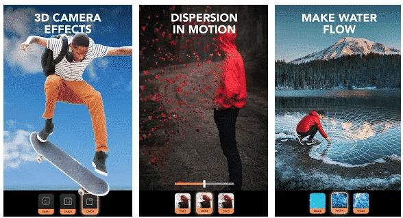 application enlight pixaloop pour stories Instagram
