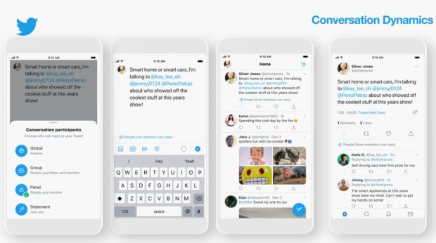 conversation dynamics Twitter trends