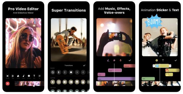 applications Instagram . InShot - Éditeur vidéo