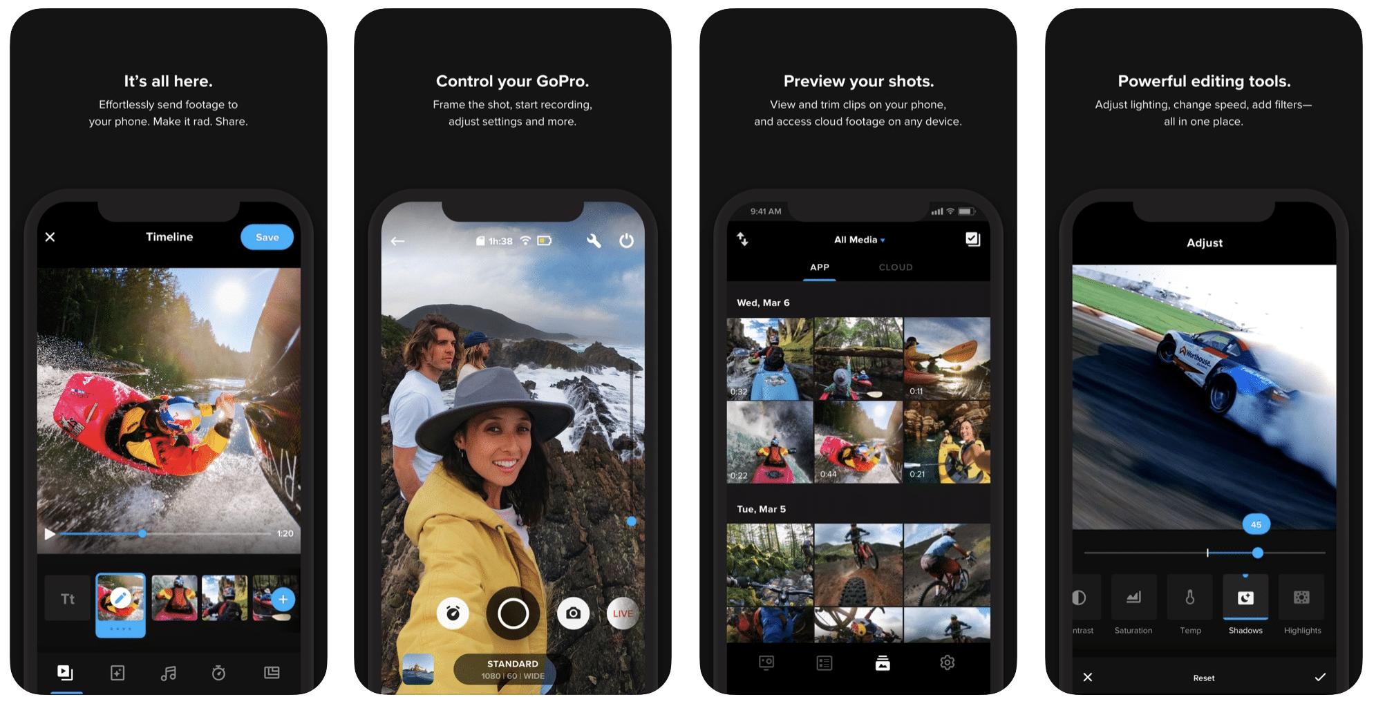 Aplicaciones de Instagram: GoPro