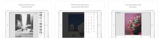 Snapseed, l'éditeur de photos aux formats JPEG et RAW