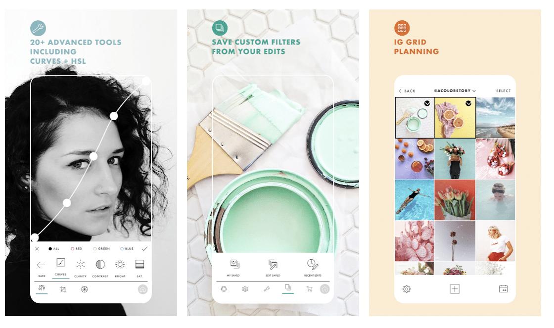 Aplicaciones de Instagram: A Color Story