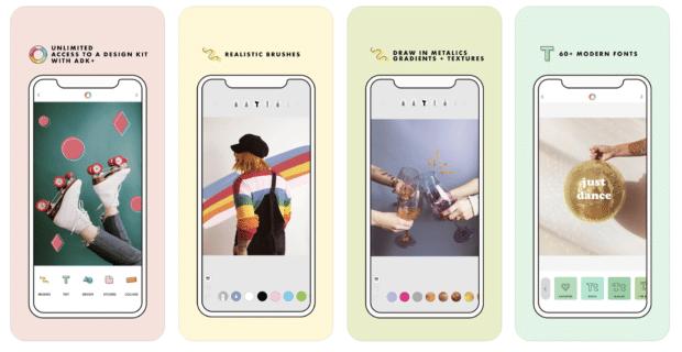 A Design Kit - Éditeur de photos