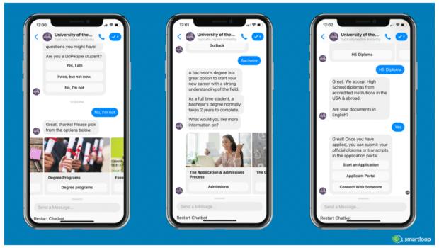 Smartloop 1:1 messaging