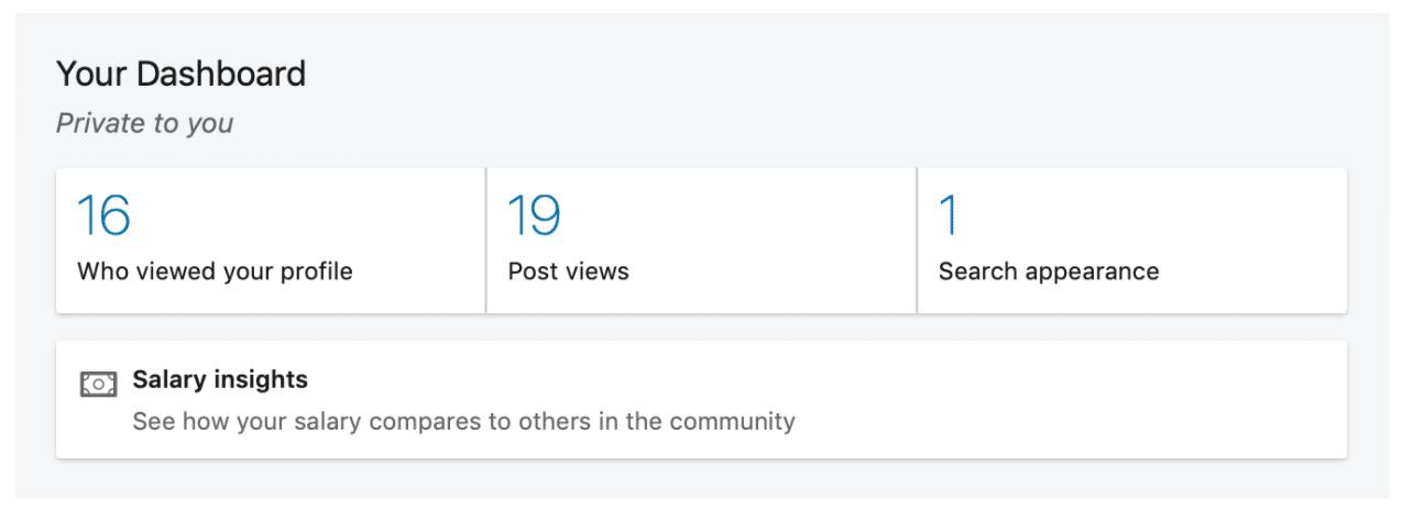 LinkedIn Profile Analytics Your Dashboard