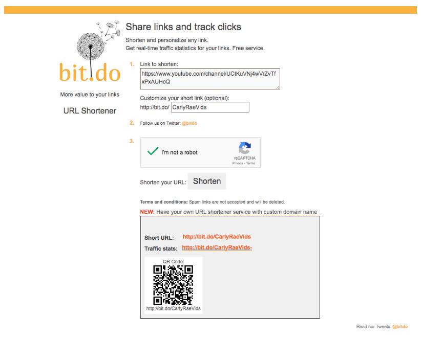 Bit.Do URL shortener