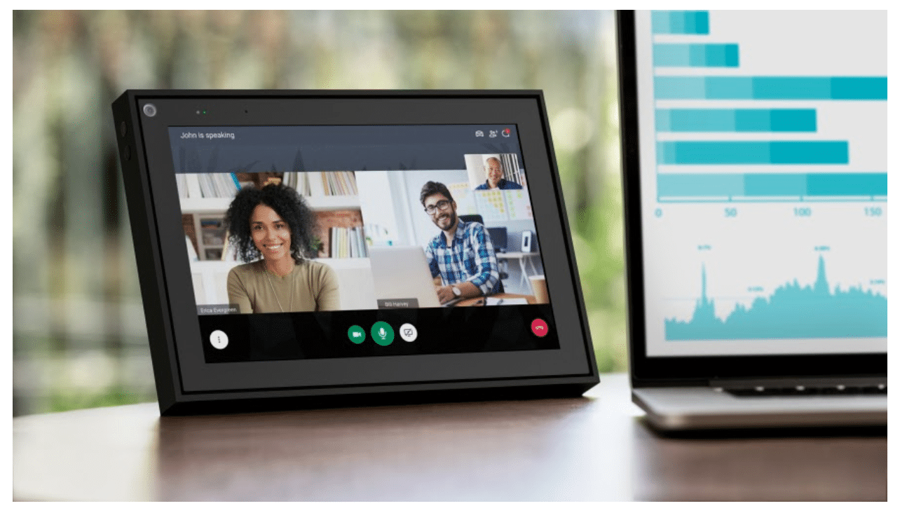 Facebook portal video call tablet