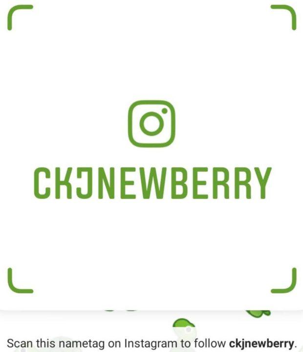 exemple de nametag Instagram pour obtenir plus d'abonnés