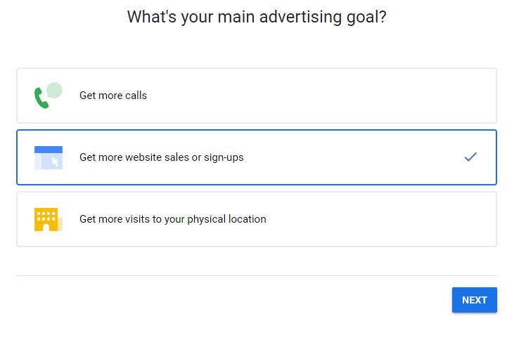 هدف تبلیغاتی New Campaign