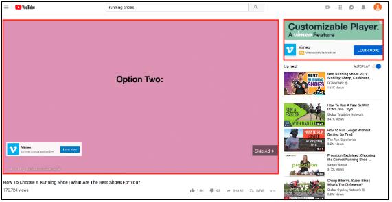 تبلیغات قبل از پخش قبل از فیلم های YouTube