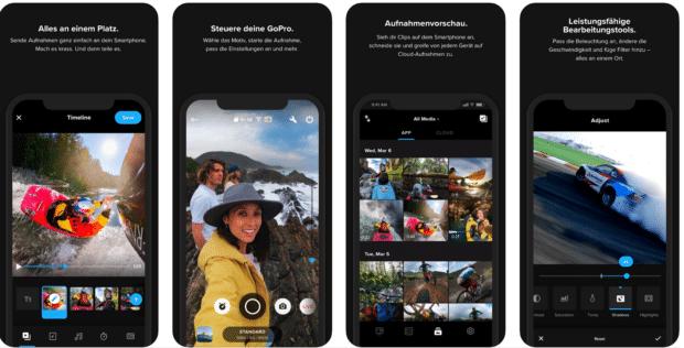 Die GoPro-App