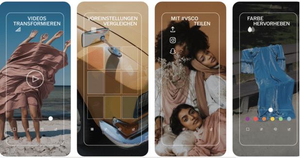 VSCO-Fotobearbeitungs-App