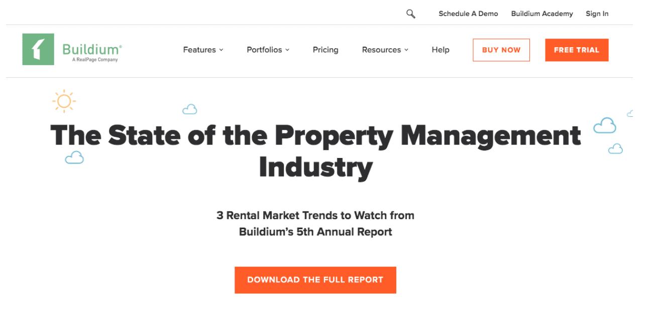 Buildium lädt den vollständigen Bericht herunter