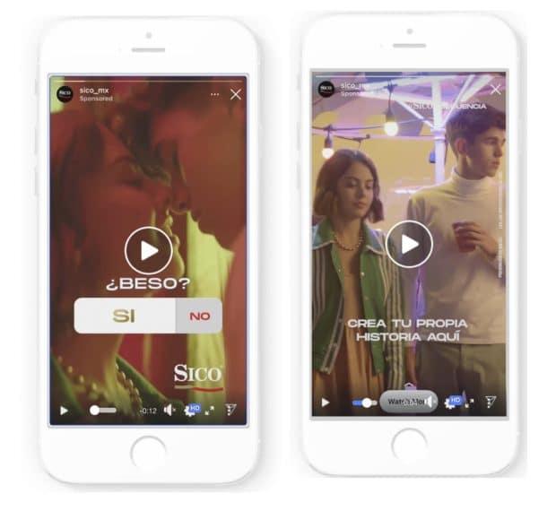 Ejemplos de las Historias de Instagram de la campaña SICOnsecuencia.