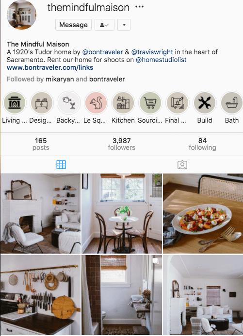 @themindfulmaison Instagram aesthetic