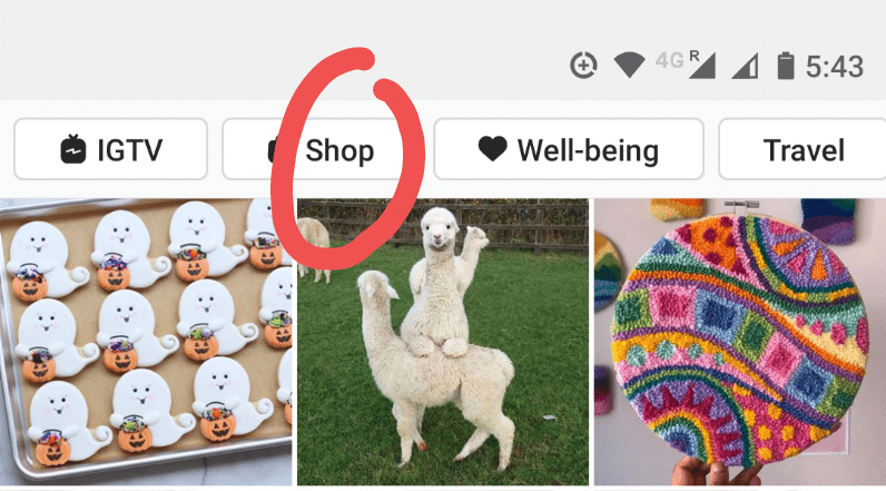 Set up Instagram Shop with business profile