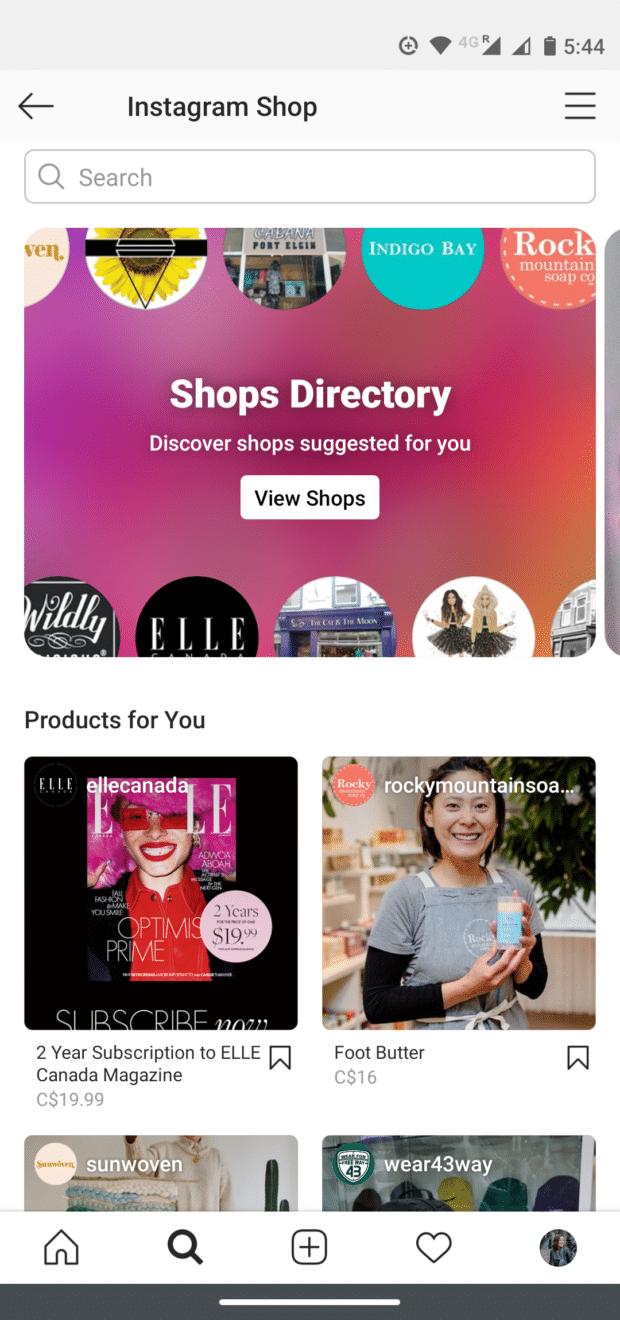 Shop-Verzeichnis