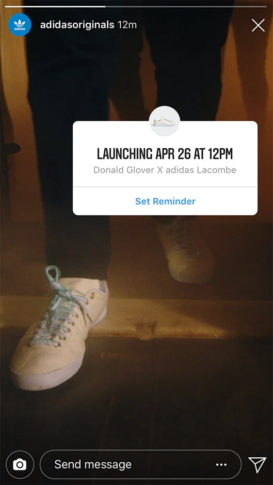 Adidas Originals reveals new product launch