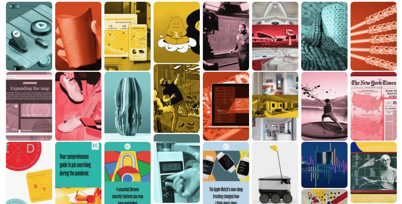 FastCompany applique un traitement de couleur similaire à toutes ses images