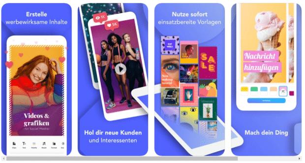 Mit der Boosted App in den sozialen Medien werben