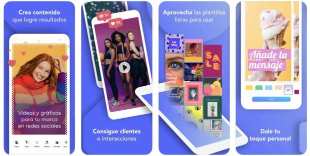 Boosted, anuncio de esta app para Historias de Instagram