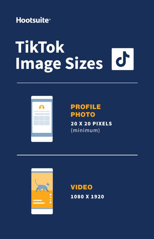 TikTok image sizes