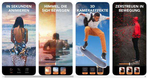 Die Instagram Stories App Enlight Pixaloop
