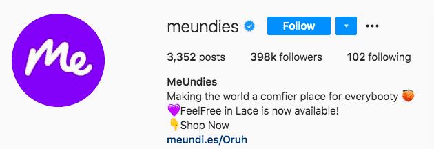 MeUndies brand personality