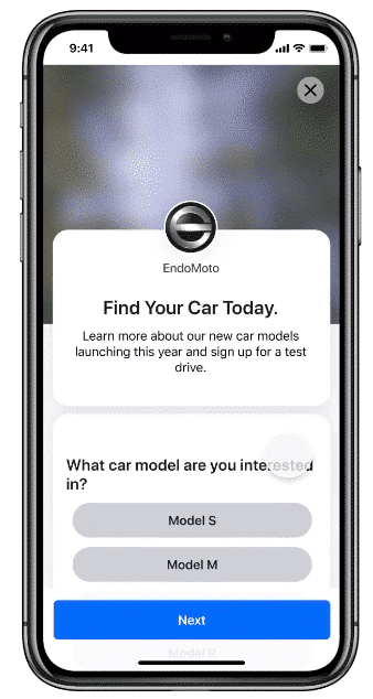 EndoMoto find your car today