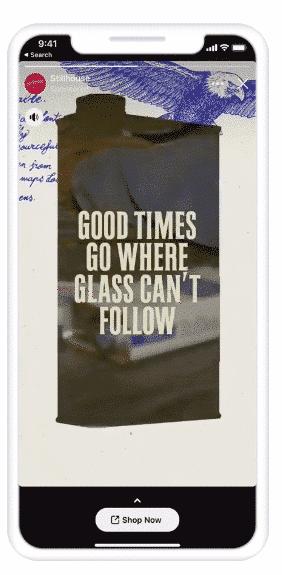 Stillhouse Spirits Co. Facebook Stories ads