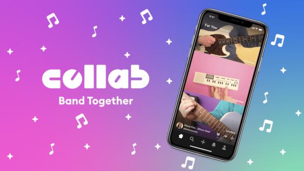 Facebook Collab app promo image